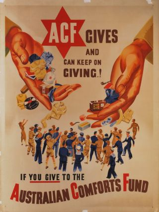 ACF Gives And Can Keep On Giving! If You Give To The Australian Comforts Fund
