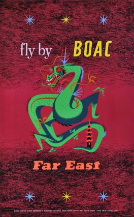 Fly By BOAC. Far East. Maurice Laban.