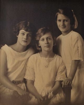 Three Young Women. May Moore, NZ/Aust