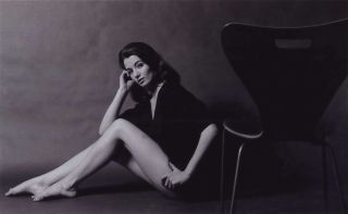 Christine Keeler Seated With Chair. Lewis Morley, Brit./Aust