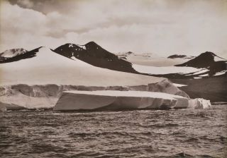 Birth Of An Iceberg. Herbert G. Ponting, Brit
