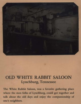 Old White Rabbit Saloon, Lynchburg, Tennessee