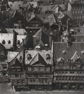 Old Frankfurt Before Its Destruction In WWII. Wolfgang Sievers, German/Australian