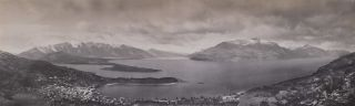 Queenstown And Lake Wakatipu. Melvin Vaniman, American