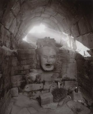 Fountain Head, Angkor, Cambodia. Linda Connor, b.1944 Amer.