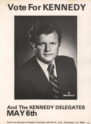 Vote For Kennedy [Ted