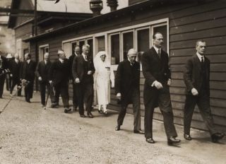 [Minister For Health And Repatriation (Lyons Government) Billy Hughes And The Duke Of Gloucester Inaugurating Prince Henry Hospital]