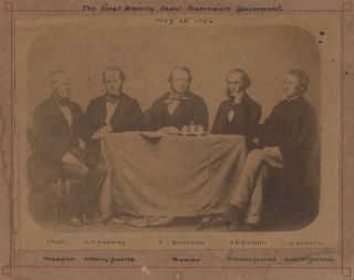 The First Ministry Under Responsible Government [NSW]. William Australian, James