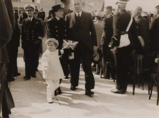 [Prime Minister Ben Chifley At The VP Day Ceremonies. Australian War Memorial, Canberra]