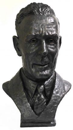 Bust Of Prime Minister Ben Chifley. Kenneth Palmer, Aust