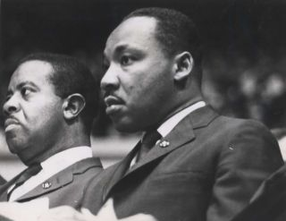 Rev. Martin Luther King Jr. [And Ralph Abernathy