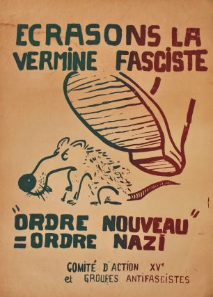 Group Of May 1968 Paris Uprising Protest Posters