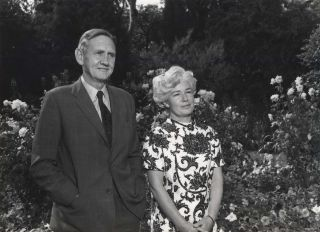 Prime Minister John Gorton With Wife Bettina