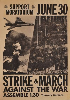 Support Moratorium. Strike And March Against The War