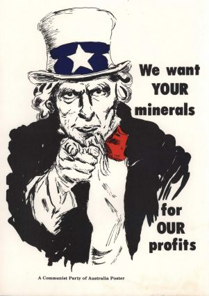 We Want Your Minerals For Our Profits