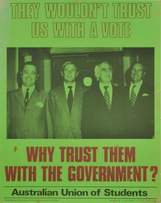 They Wouldn't Trust Us With A Vote. Why Trust Them With The Government?