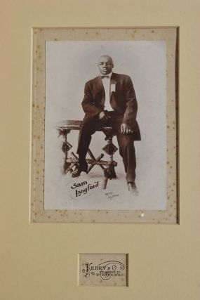Sam Langford. Kerry, Co, fl. Aust
