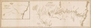 Chart Of Part Of The Interior New South Wales. After John Oxley, Brit./Aust
