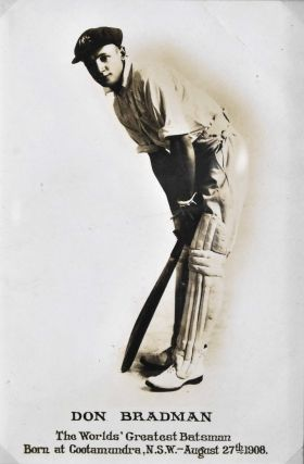Don Bradman, Cricketer