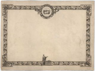 Design For Debating Certificate]. Gayfield Shaw, Australian
