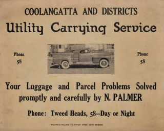 Coolangatta And Districts Utility Carrying Service