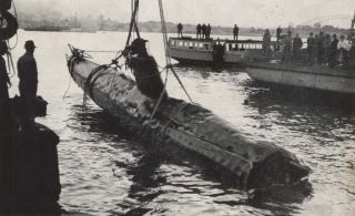 Souvenir Of Japanese Midget Submarine Sunk In Sydney Harbour