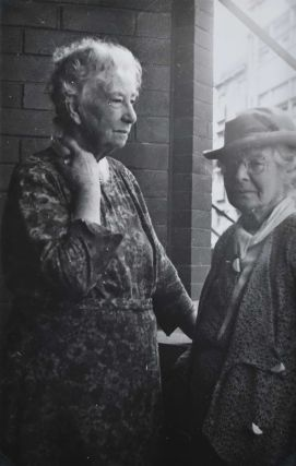 Dame Mary Gilmore With Artist Ethel Carrick, Kings Cross]. Joshua Smith, Aust