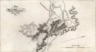 Plan Of The Pass Of Victoria, Mount York. John Carmichael, Aust