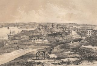 Miller's Point, Sydney, From The Flagstaff Hill. John Skinner Prout, British