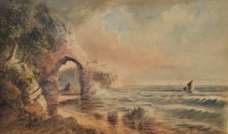 St Michael's Arch, NSW [Avalon]. W H. Raworth, c. Brit./Aust./NZ.