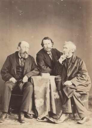 Irish Revolutionary John Mitchel, With John Martin And Father John Kenyon