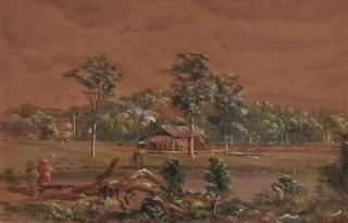Saw Mill, South Coast, NSW]. Samuel Elyard, Aust