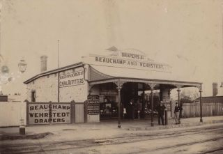 Beauchamp & Wehrstedt, Drapers, Tailors And General Outfitters, Gawler, South Australia