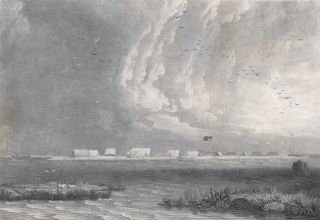 View Of Wreck-Reef Bank, Taken At Low Water. After William Westall, Brit