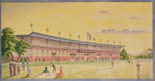 Designs And Plans For Sydney Cricket And Sports Ground