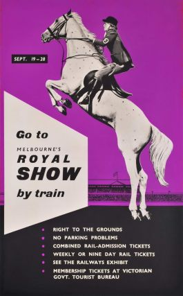 Go To Melbourne's Royal Show By Train