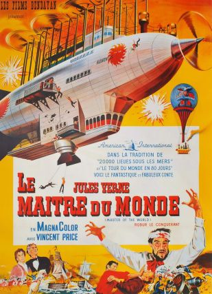 Le Maitre Du Monde, Jules Verne [Master Of The World]