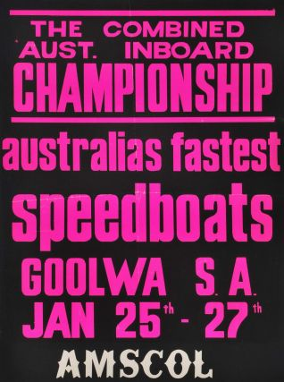 Australian Speedboat Events