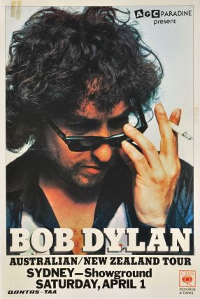 Bob Dylan Australian/New Zealand Tour