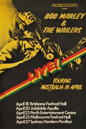 Bob Marley And The Wailers, Live!