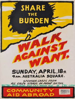Share The Burden. Walk Against Want
