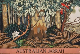 Australian Jarrah. Keith Henderson, Scottish.