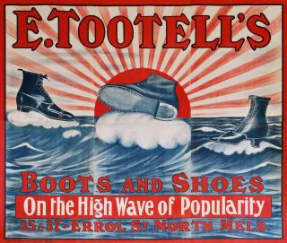 E. Tootell's Boots And Shoes, On The High Wave Of Popularity