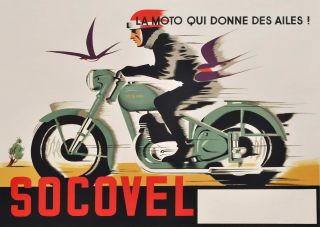 La Moto Qui Donne Des Ailes. Socovel [The Motorcycle That Gives You Wings