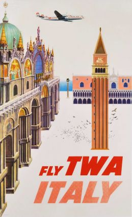 Fly TWA. Italy. David Klein, Amer
