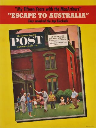 """Escape To Australia"" [""Saturday Evening Post""]. John Falter, Amer."