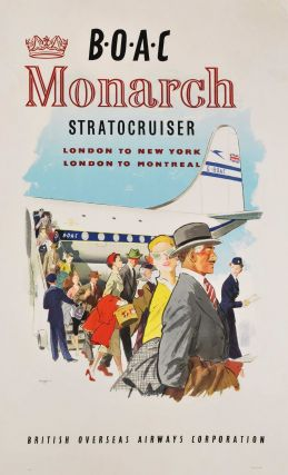 BOAC Monarch Stratocruiser