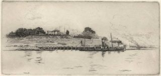 Dawes Battery [Sydney Harbour]. Sydney Ure Smith, Aust