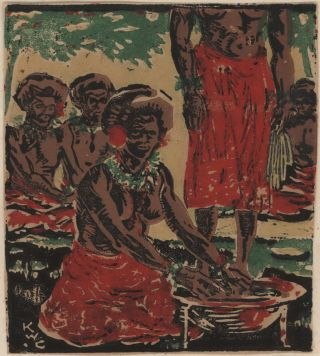 Kava. Kenneth Wallace-Crabbe, Aust.