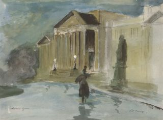Wet Evening [State Library, NSW]. rne, Aust
